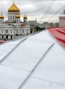 Επισκευή στέγης και υγρομόνωση στο κτίριο του Κρεμλίνου στη Μόσχα  - Κεντρική Εικόνα